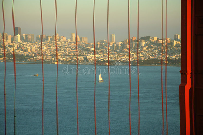 Download Golden Gate Bridge stock image. Image of vertical, golden - 2114369