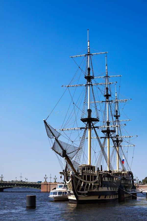 Download Sailing vessel stock image. Image of transportation, petersburg - 15396193