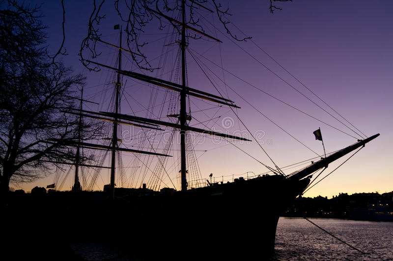 Download Sailing vessel stock image. Image of scary, frigate, adventure - 22669519
