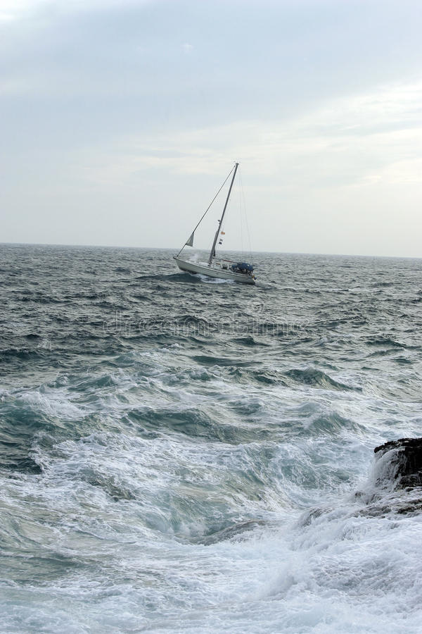Download Sailing with wind stock image. Image of blur, isolated - 10830003