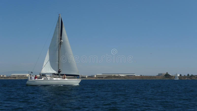 Sailing Yacht royalty free stock images