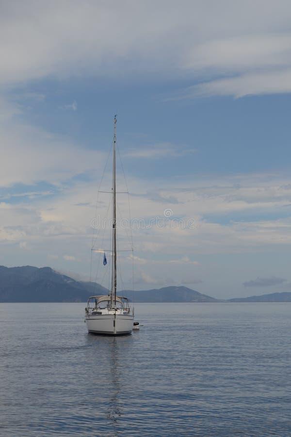 Sailingboat fotografía de archivo libre de regalías