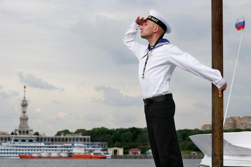 Sailor royalty free stock photo