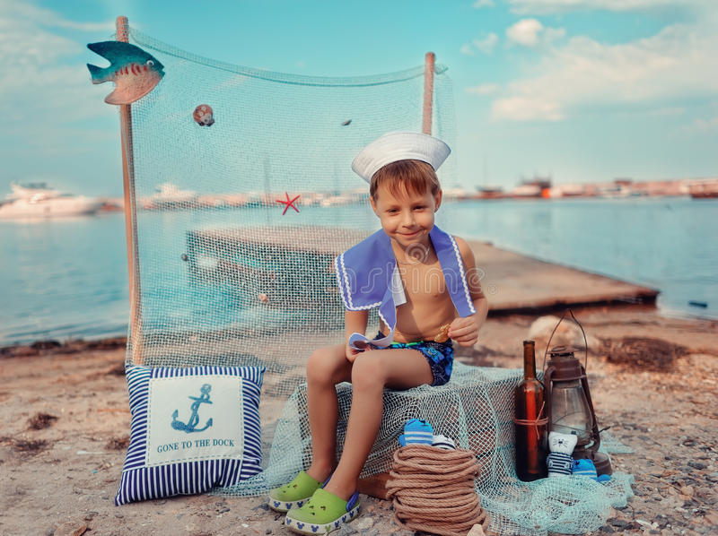 Download Sailor boy stock image. Image of caucasian, person, lifestyles - 32109099