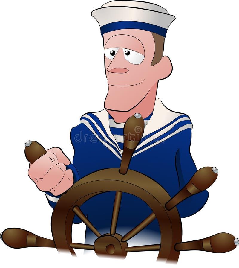 Sailor illustration stock illustration