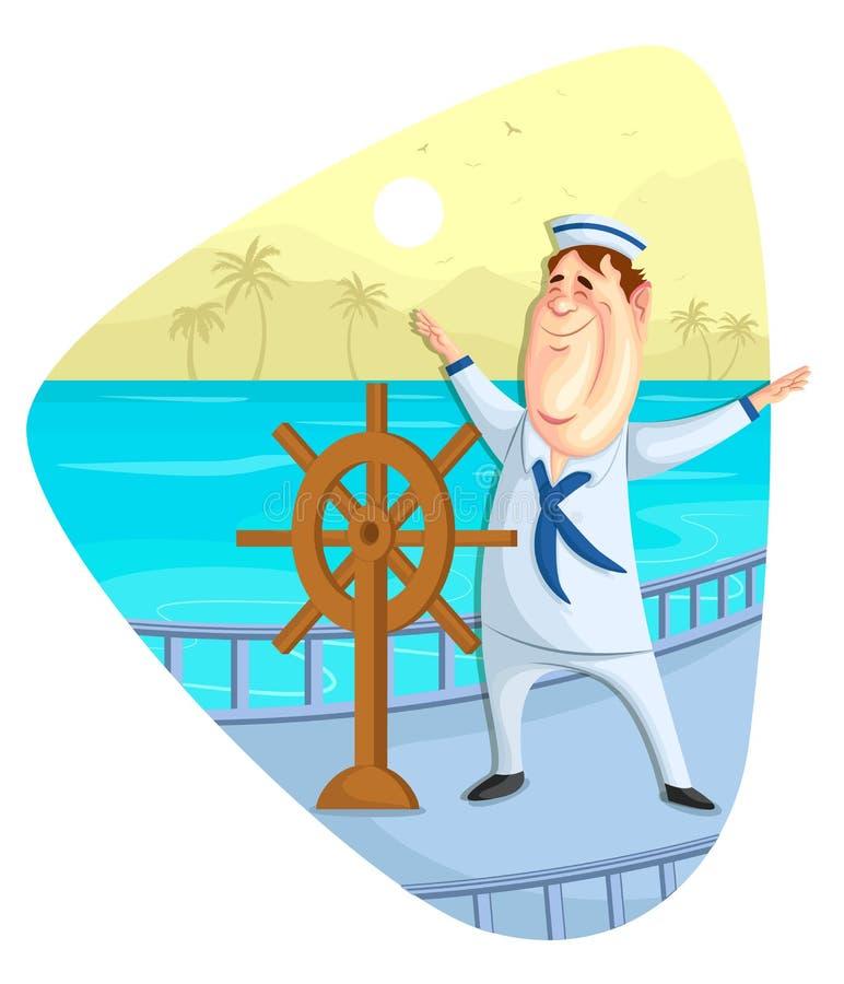 Download Sailor stock vector. Illustration of navigator, journey - 41770485