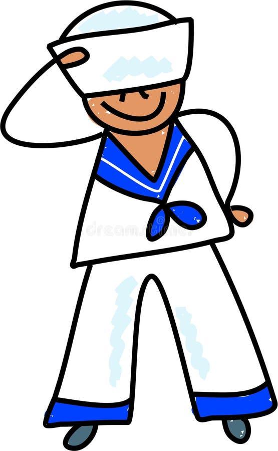Download Sailor kid stock vector. Illustration of illustrations - 914880