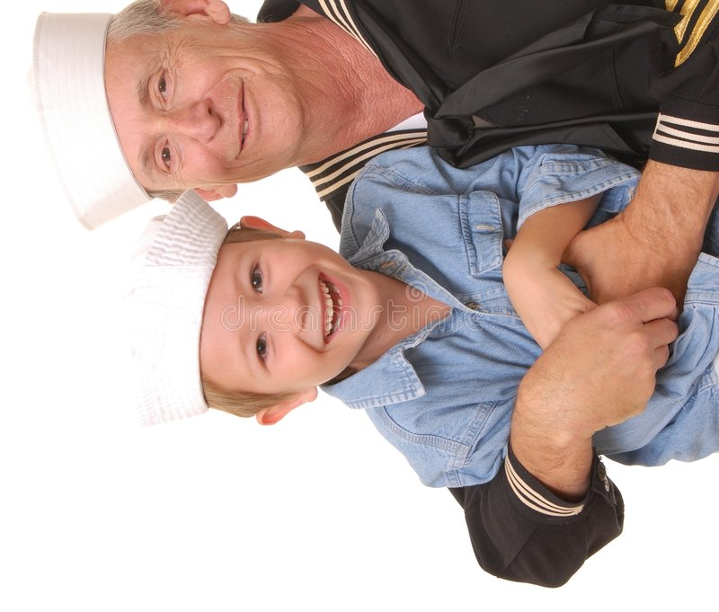 Download Sailor and Son 9 stock photo. Image of aged, officer, seaman - 1637646