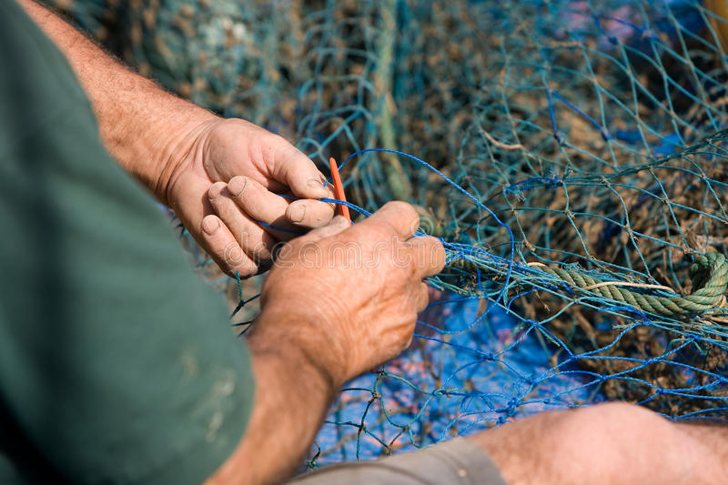 Sailors And Fishing Occupations Stock Photos