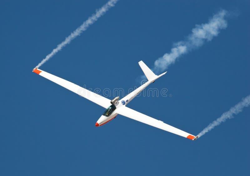 Sailplane superbe d'avion à réaction de Salto photo stock