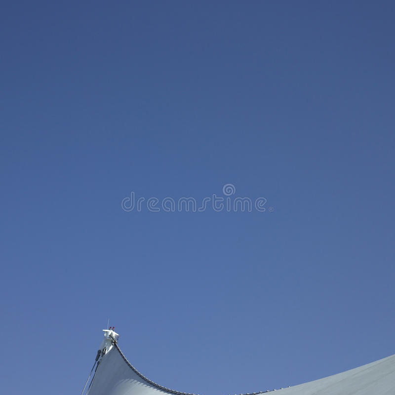 Download Sails and blue sky stock photo. Image of bolts, built - 28474008