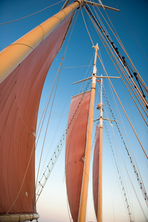 sails scarlet στοκ φωτογραφίες με δικαίωμα ελεύθερης χρήσης