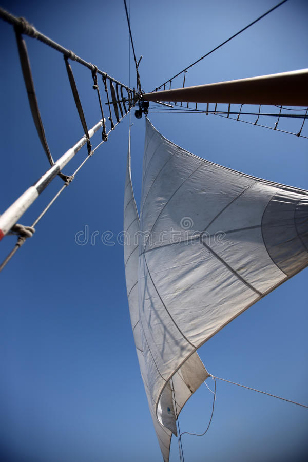Download Sails in the  sky stock photo. Image of ship, color, sail - 16040706