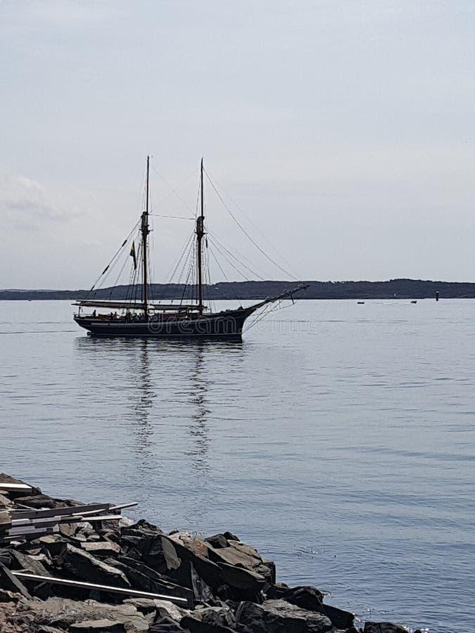Sailship royaltyfria bilder