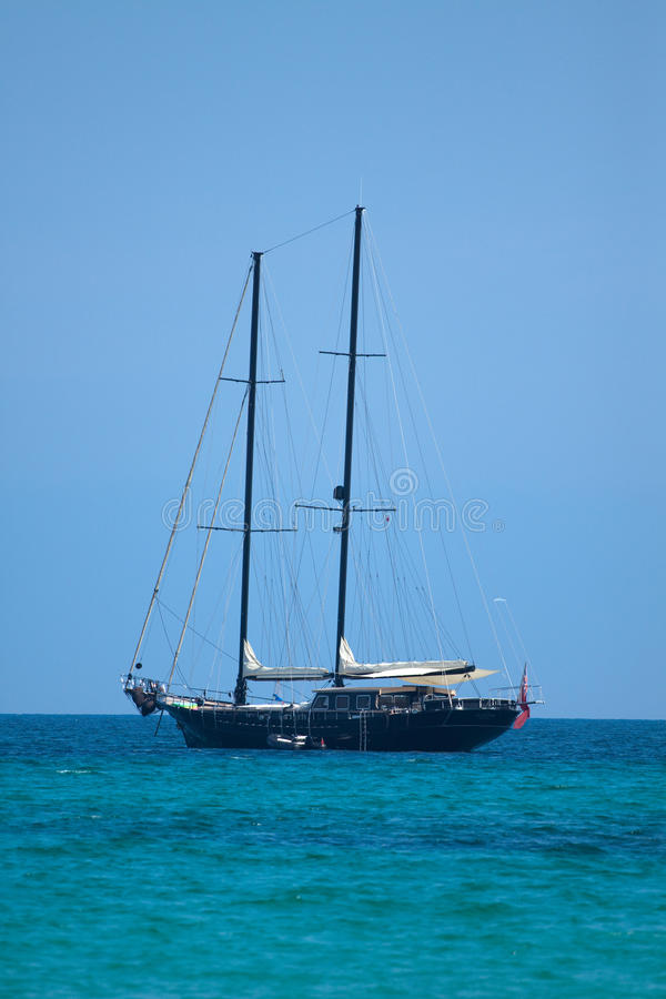 Download Sailship on the sea stock image. Image of ocean, travel - 19900443