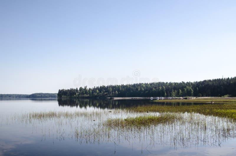Saimaa foto de archivo libre de regalías