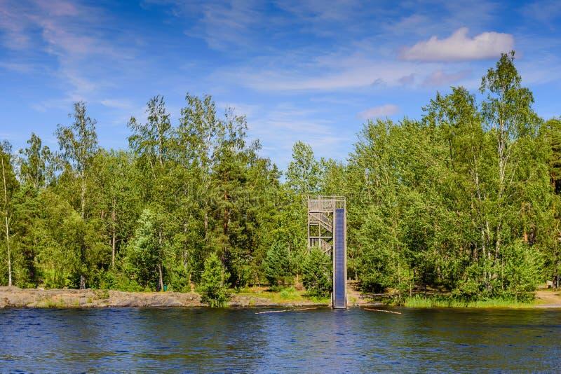Saimaa lake royalty free stock photos