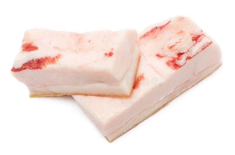 Saindoux de porc image stock