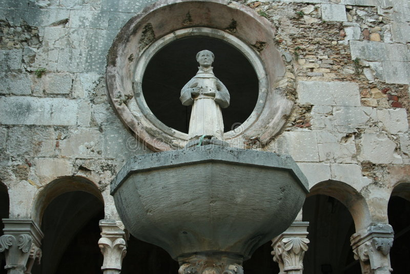 saint royaltyfri fotografi