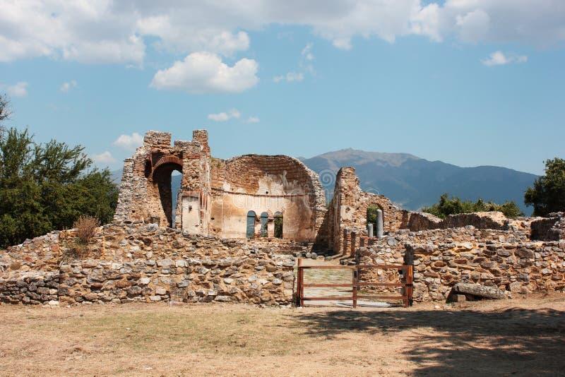 Saint Achilleios church at Prespes Lake Florina northern Greece. Europe stock image