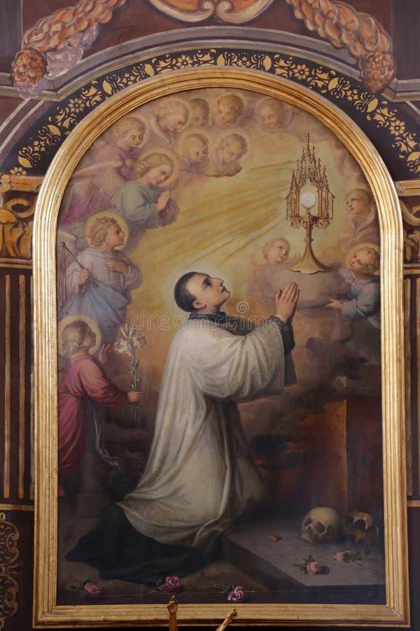 Saint Aloysius fotos de stock royalty free