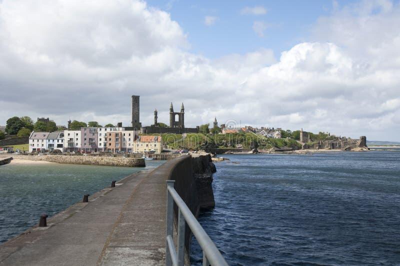 Saint Andrews city in Scotland royalty free stock photos