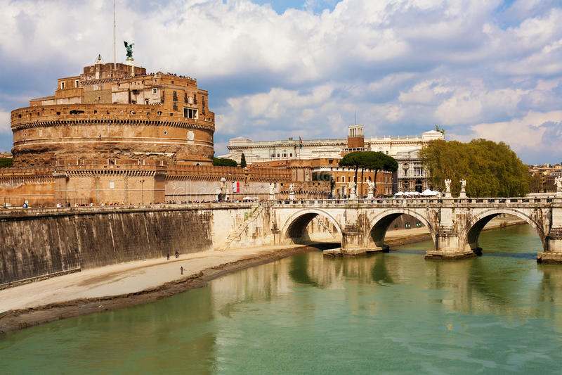Download Saint Angel Fortress, Rome stock photo. Image of europe - 28767960
