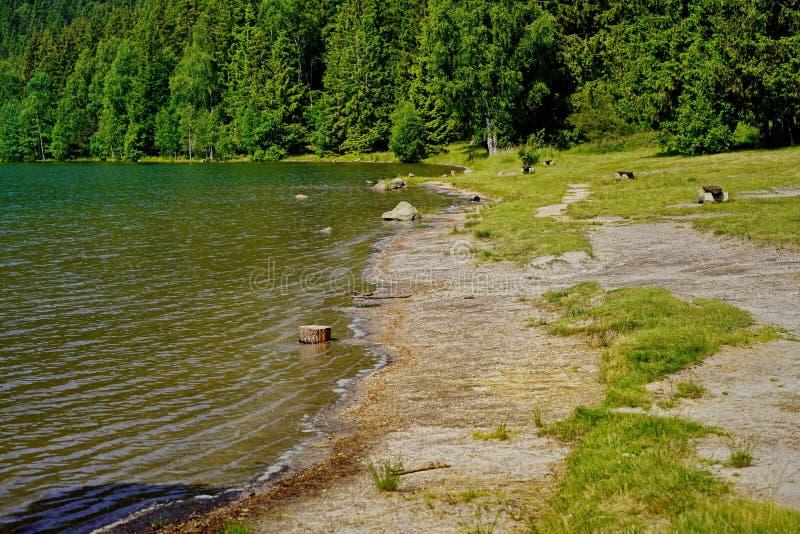 Saint Anne Lake landscape in Romania 2 stock photos