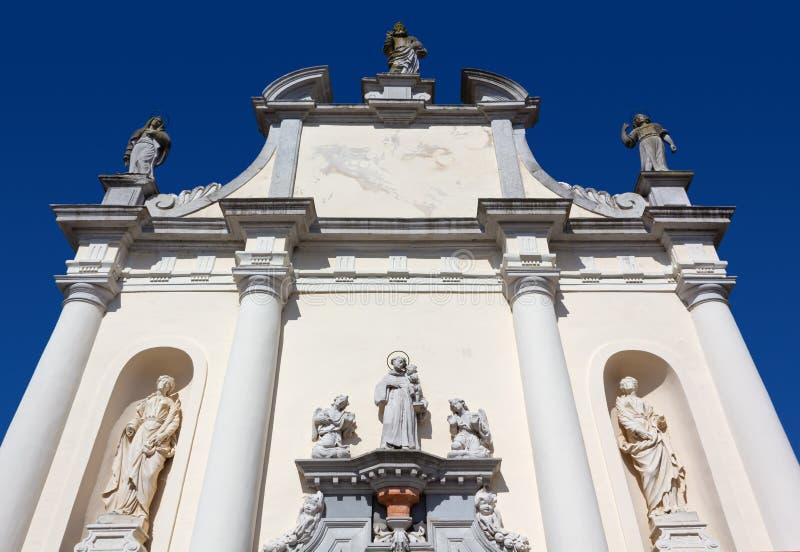 Saint Anthony Church em Aquileia imagens de stock royalty free