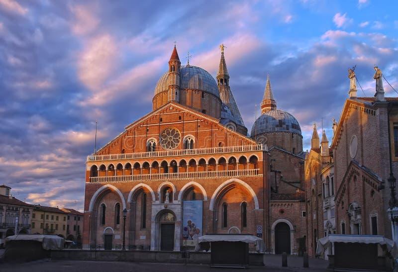 Saint Anthony Church, Pádua, Itália imagens de stock