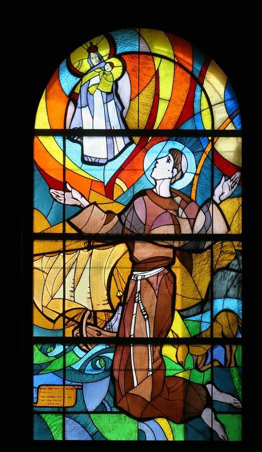 Saint Anthony de Pádua foto de stock royalty free