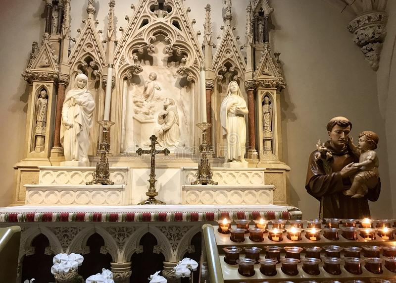 Saint Anthony de P?dua fotografia de stock