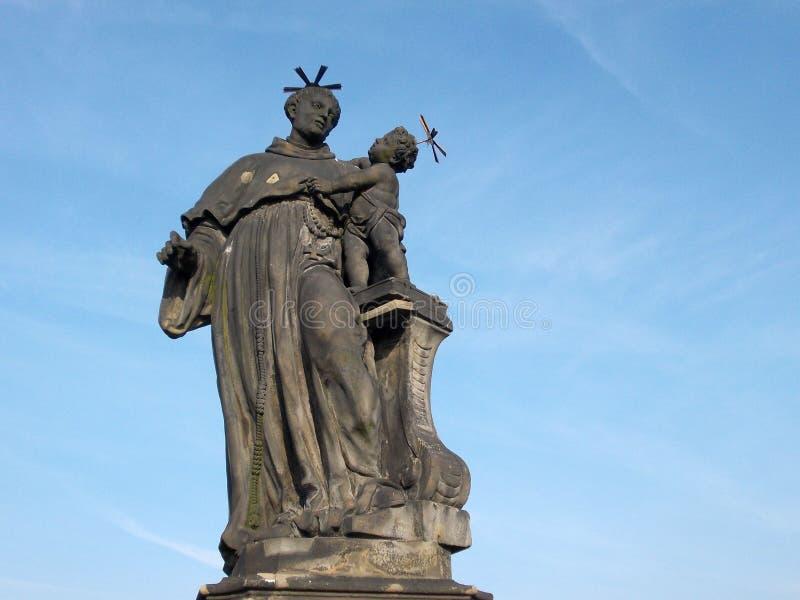 Saint Anthony of Padua royalty free stock photos