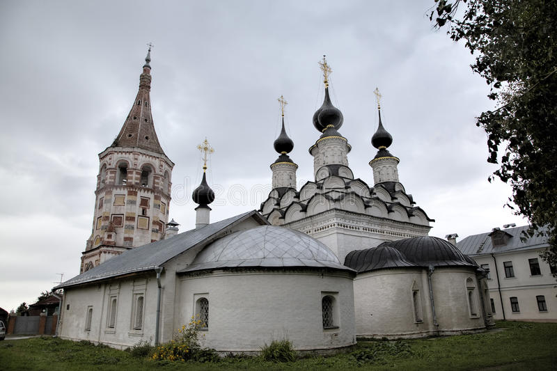Saint Antipas and Summary Saint Lazarus Churches. Suzdal, Golden Ring of Russia royalty free stock image