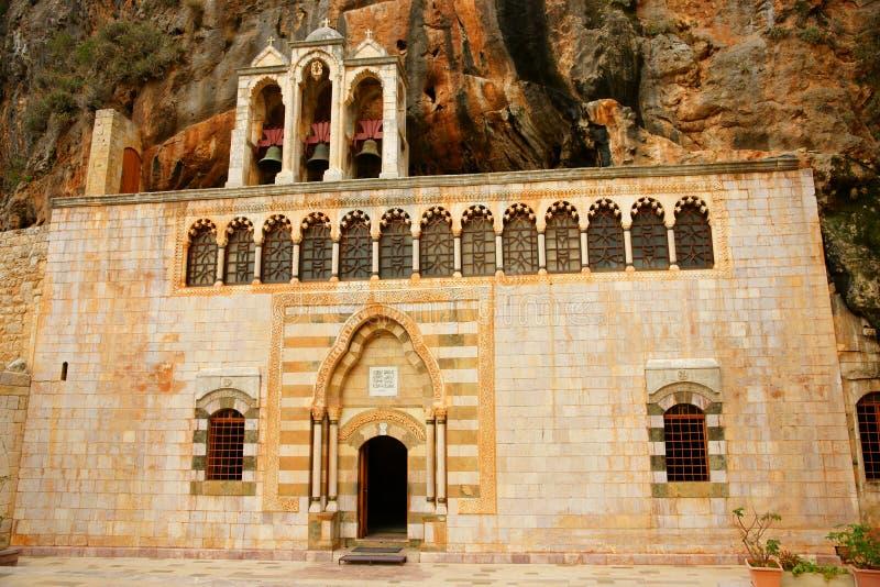 Saint Antonios The Great Monastery stock images