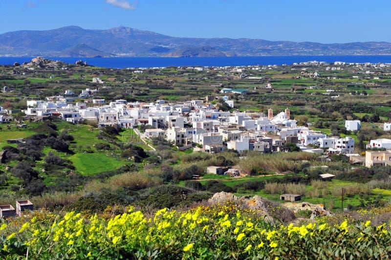 Saint Arsenios village, Naxos island, Greece. Saint Arsenios village, Naxos island, Cyclades, Greece stock photo