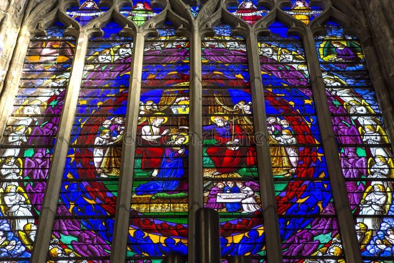 Saint-Aubin church in Guerande, France royalty free stock photography