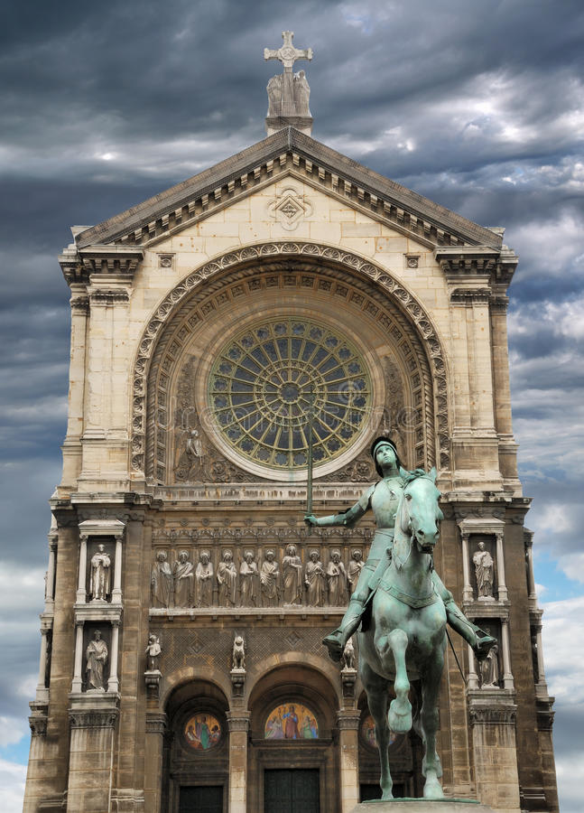 Saint-Augustin. royalty free stock image