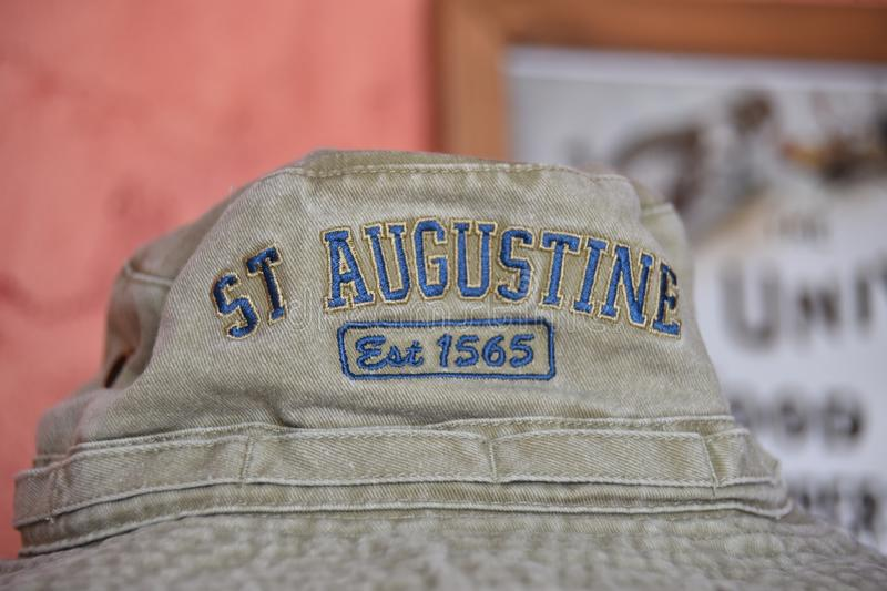 Saint Augustine Florida Established 1565 photo libre de droits