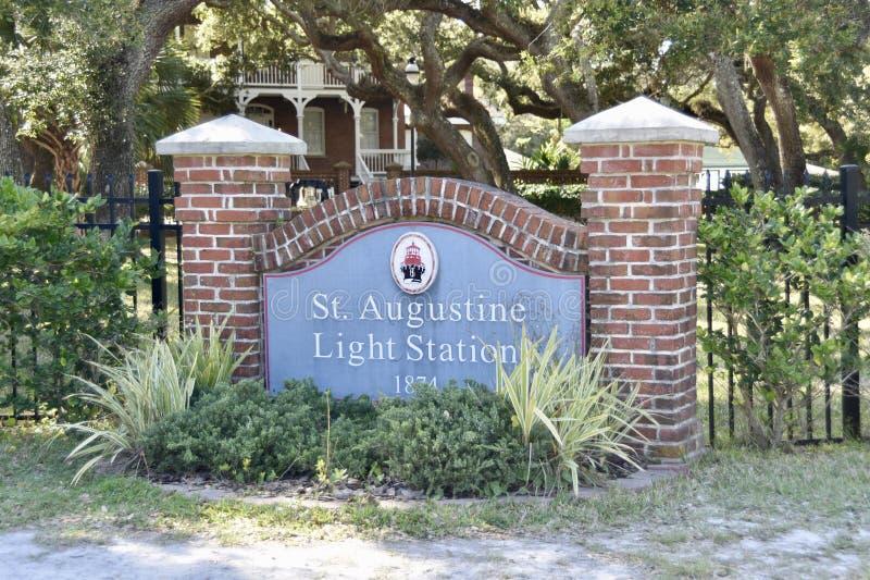 Saint Augustine Florida Light Station royalty free stock photo