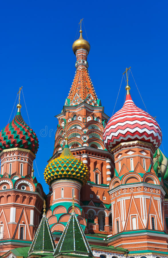 Download Saint Basil Cathedral On Red Square, Moscow Stock Photo - Image: 29635594