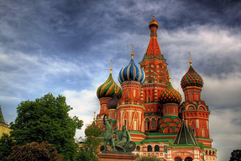 Saint Basil's Cathedral stock image