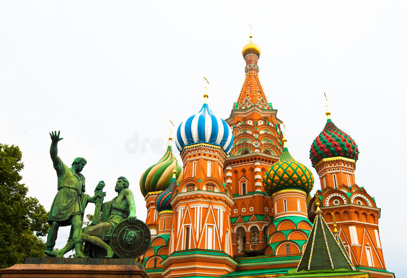 Download Saint Basil's Cathedral In Moscow Stock Image - Image: 25560425