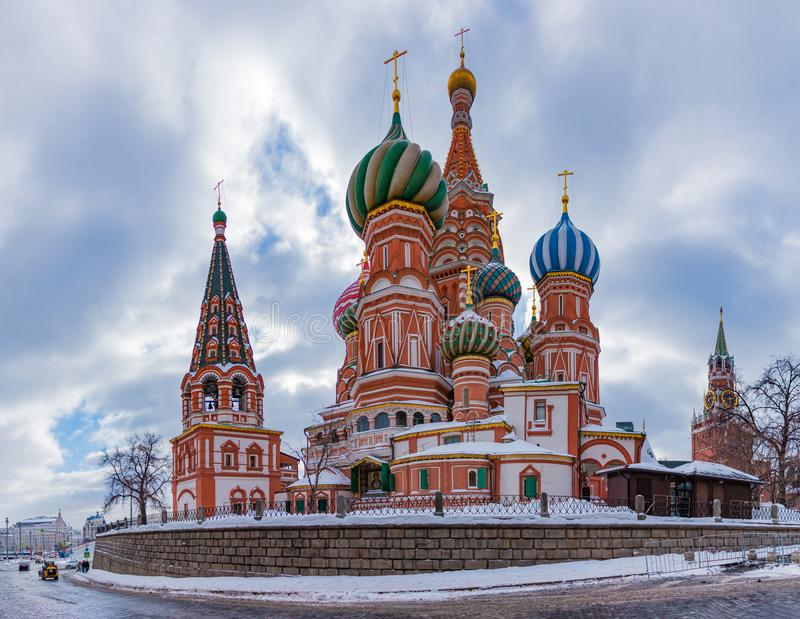 Saint Basil`s Cathedral VIII royalty free stock photography