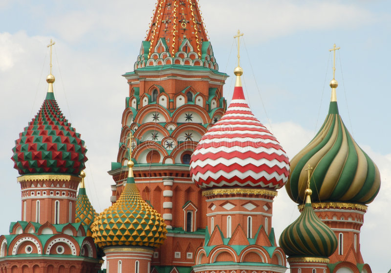 Download Saint Basils Cathedral, Moscow Stock Image - Image of capital, photography: 2968147