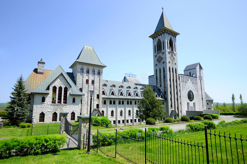 Saint Benedict Abbey imagens de stock
