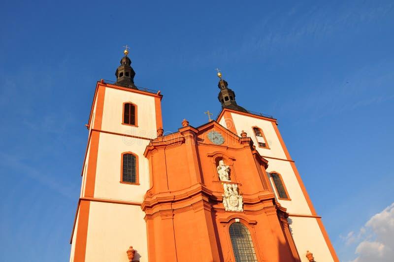 Saint Blasius da igreja em Fulda, Alemanha imagens de stock
