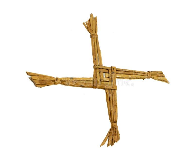 Saint Bridgets Cross royalty free stock image