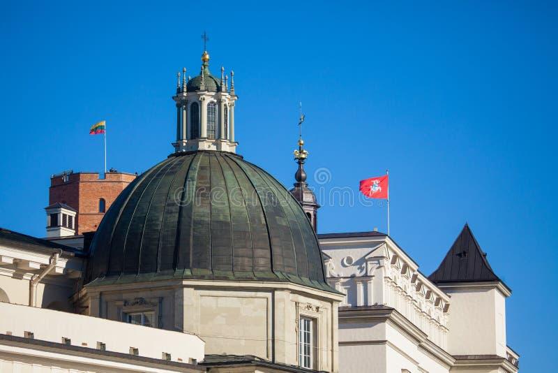 Saint Casimir Chapel in Vilnius royalty free stock images