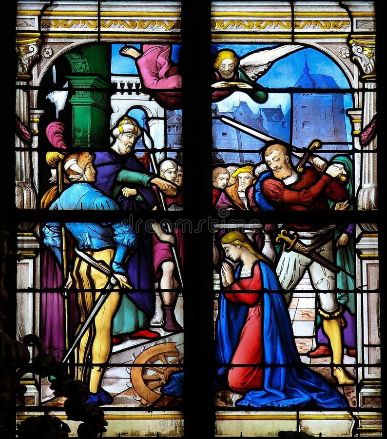 Saint Catherina de Alexandria imagens de stock royalty free